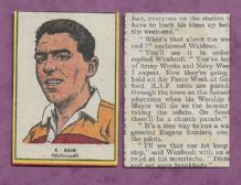 Motherwell Alex Bain 1954
